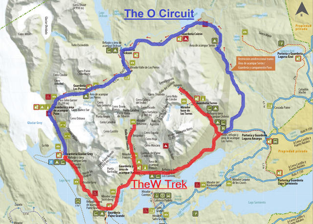 The O Circuit vs. The W Trek: Which to choose?
